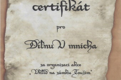certifikát-toužim