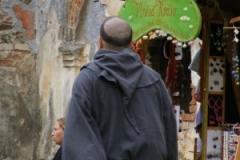 mnich na zámku Čečovice