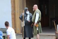 poutník Hroch & mnich