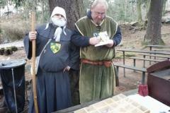 poutník Hroch & mnich pod Radyní
