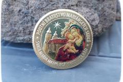 mince zlatá - kolorovaná