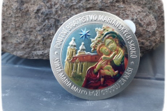 stampka stříbrná - kolorované