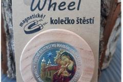 happy wheel stříbro - kolorované